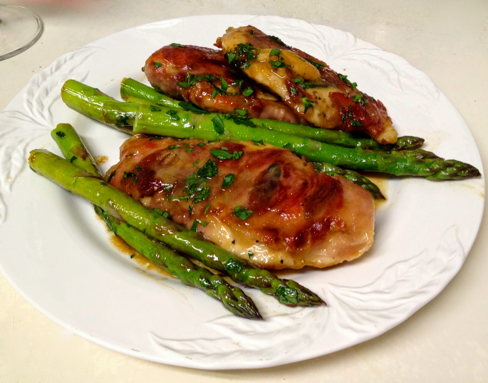 Grilled Chicken Breasts Saltimbocca forecasting