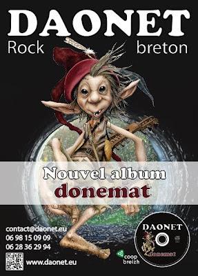 Flyer d'annonce de sortie de Donemat en 2012