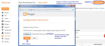 Pasang Favicon Blog