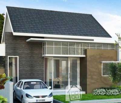 gambar rumah minimalis 1 lantai yang modern rumah