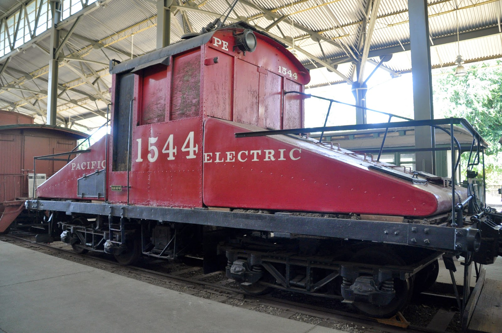 4 Motor Electric Train Engine Used To Build The La Subway