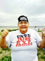 Lakota pipeline fighter spends night in jail for blocking fracking trucks