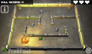 Tank Hero v1.5.3.2 for BlackBerry Playbook