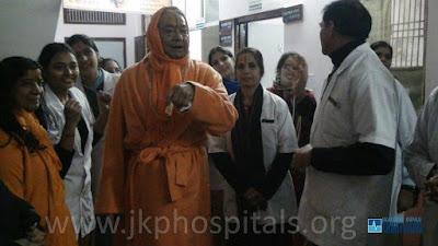 Jagadguru Kripaluji Maharaj at JKP Hospitals India