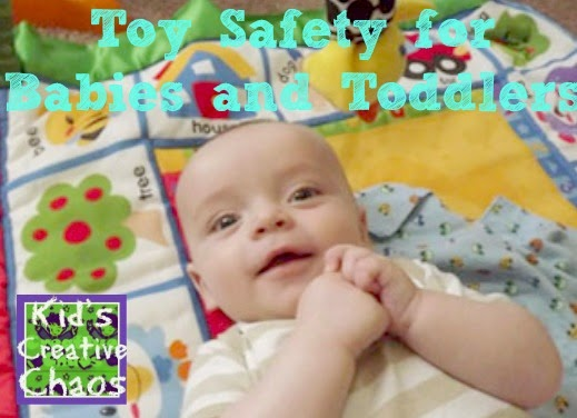 10 Game and Toy Safety Tips for infants, babies, and toddlers.