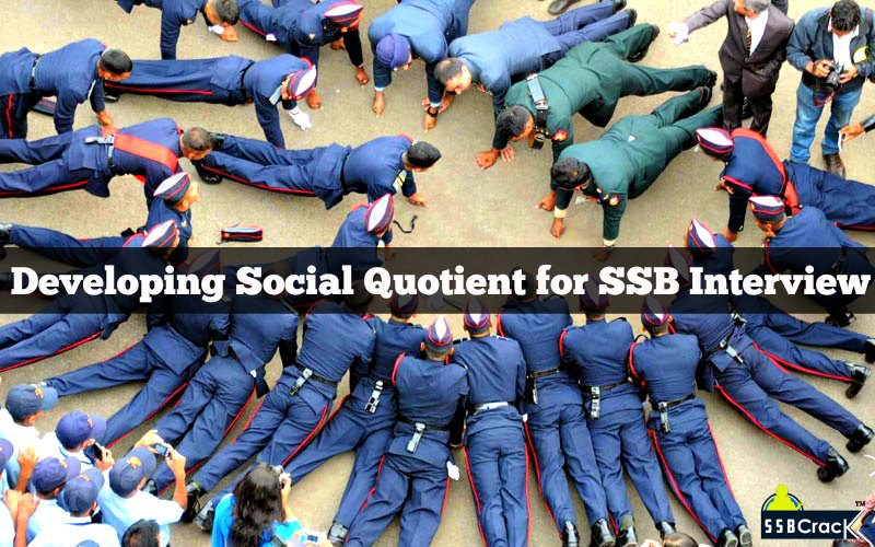 Developing Social Quotient for SSB Interview