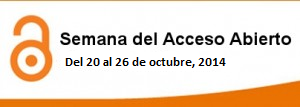 Estamos en la semana de Open Acess Week 2014.