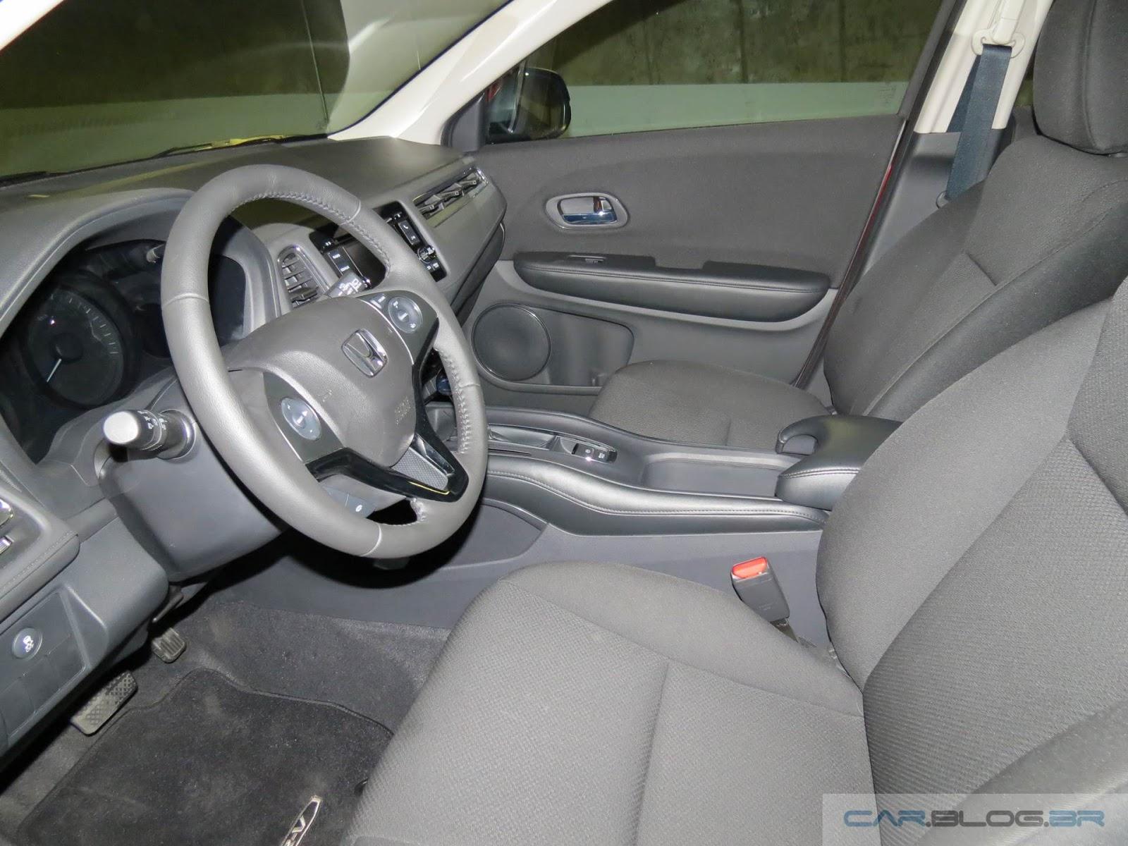 Honda HR-V EX- interior - espaço dianteiro
