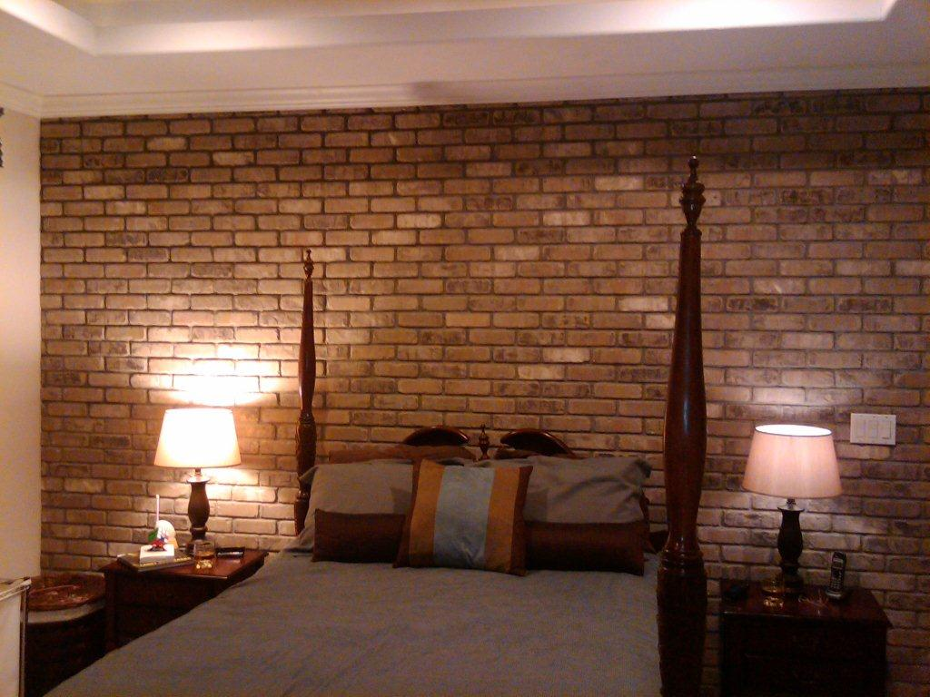 Brick Wall Interior House We Love Our Brick Thin Brick Wall