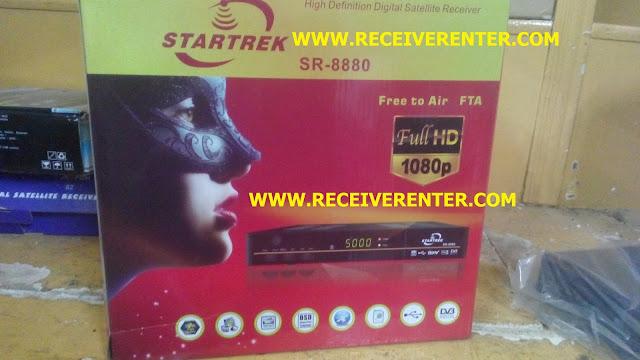 SATRTREK SR-8880 HD RECEIVER BISS KEY OPTION