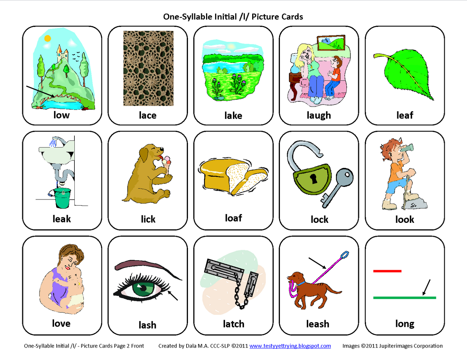 Testy yet trying: Initial L: Free Speech Therapy ...
