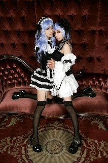 Vocaloid Anti the Holic Luka nad Rin cosplay by Tasha and Ren