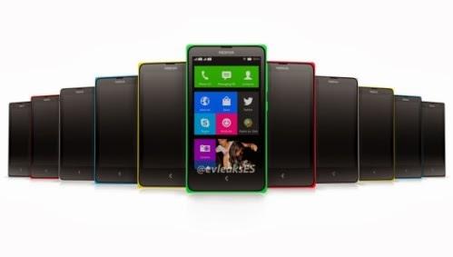 Il presunto nuovo smartphone android di Nokia potrebbe debuttare al MWC di Barcellona 2014 in varie colorazioni