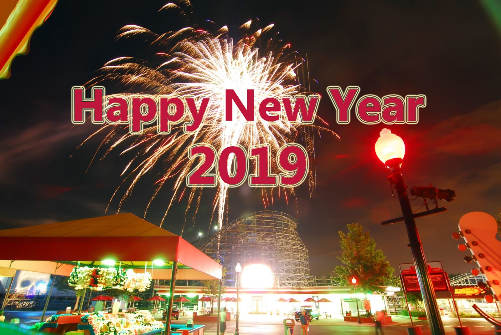 kuwait celebration happy new year 2019 wallpaper