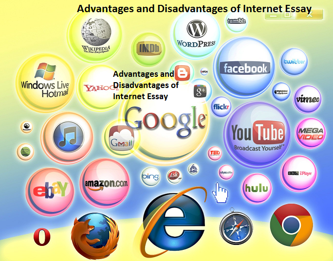 advantages and disadvantages of using the internet 2 essay Disclaimer: this essay has been submitted by a student however, the internet also contains some unwanted elements or disadvantages the following are the advantages and disadvantages of the internet 20 advantages of the internet.
