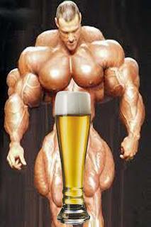 ¿La cerveza fortalece los músculos?