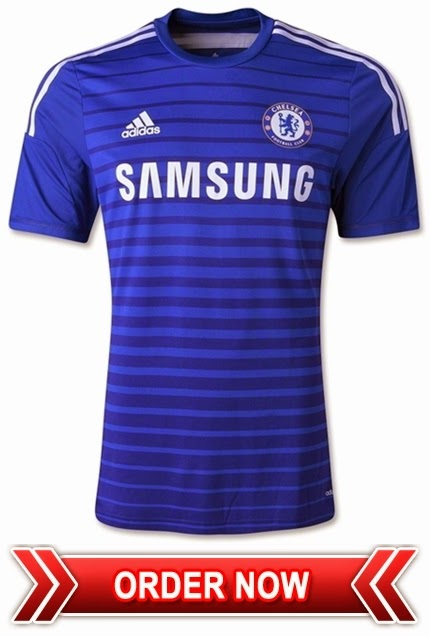 New 2014 - 2015 Official Home Kit - Chelsea FC