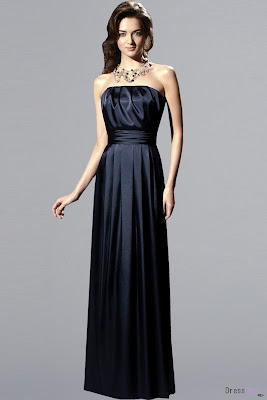 Bridesmaids gowns for Midnight blue wedding dress