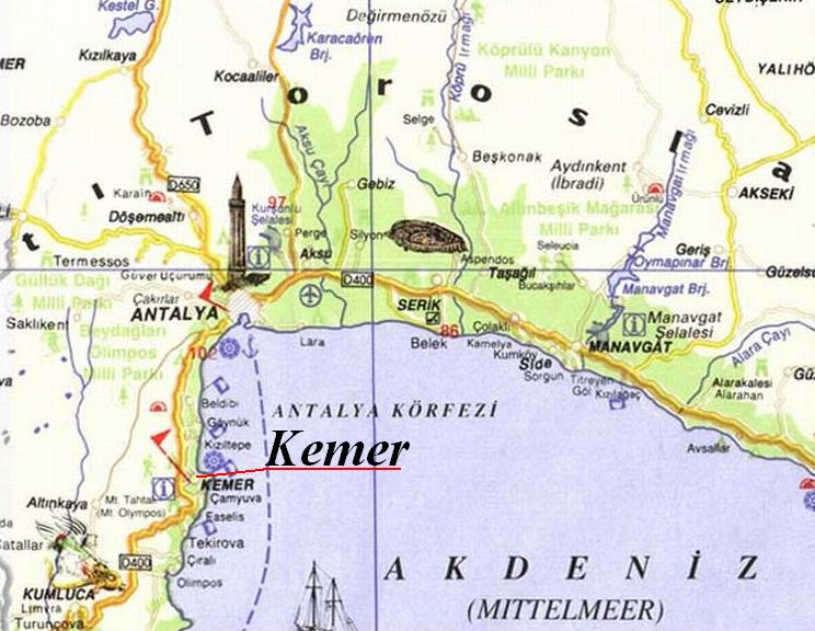 Kemer Turkey Pictures and videos and news CitiesTipscom