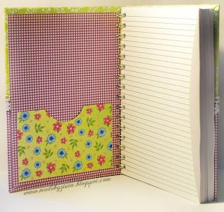 scrapbooking przepiśnik notatnik kulinarny zapiśnik card making
