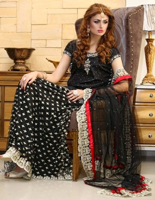 Pakistani Chiffon Party Wear with Embroidery