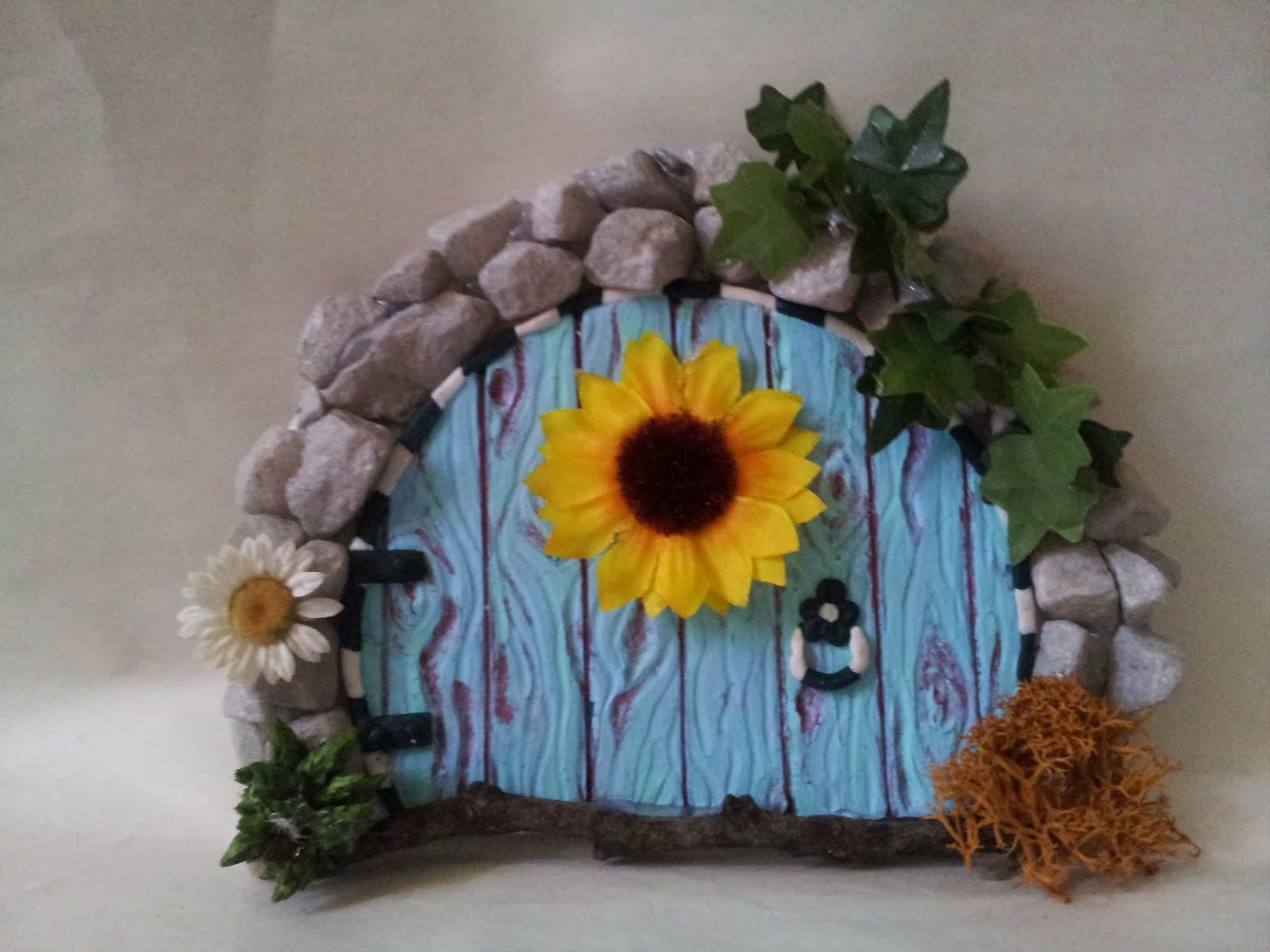 tutorial ooak door fairy fairies door polimer clay