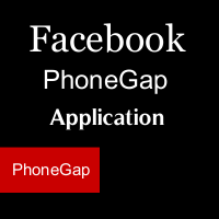 facebook phonegap application