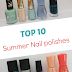 Top 10 Summer 2014 Nail Polishes