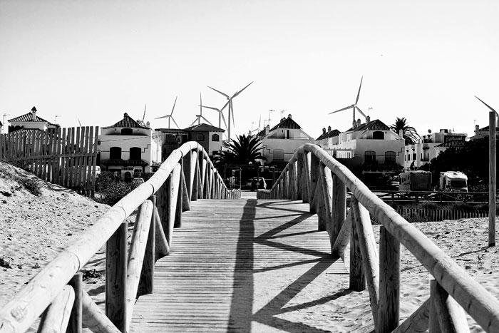 Zahara de los Atunes, Cádiz, Andalucía, Energía eólica