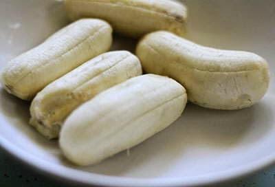 Bánh Chuối Hấp - Steamed banana cake