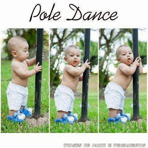 Pole Dance fofo para Whats