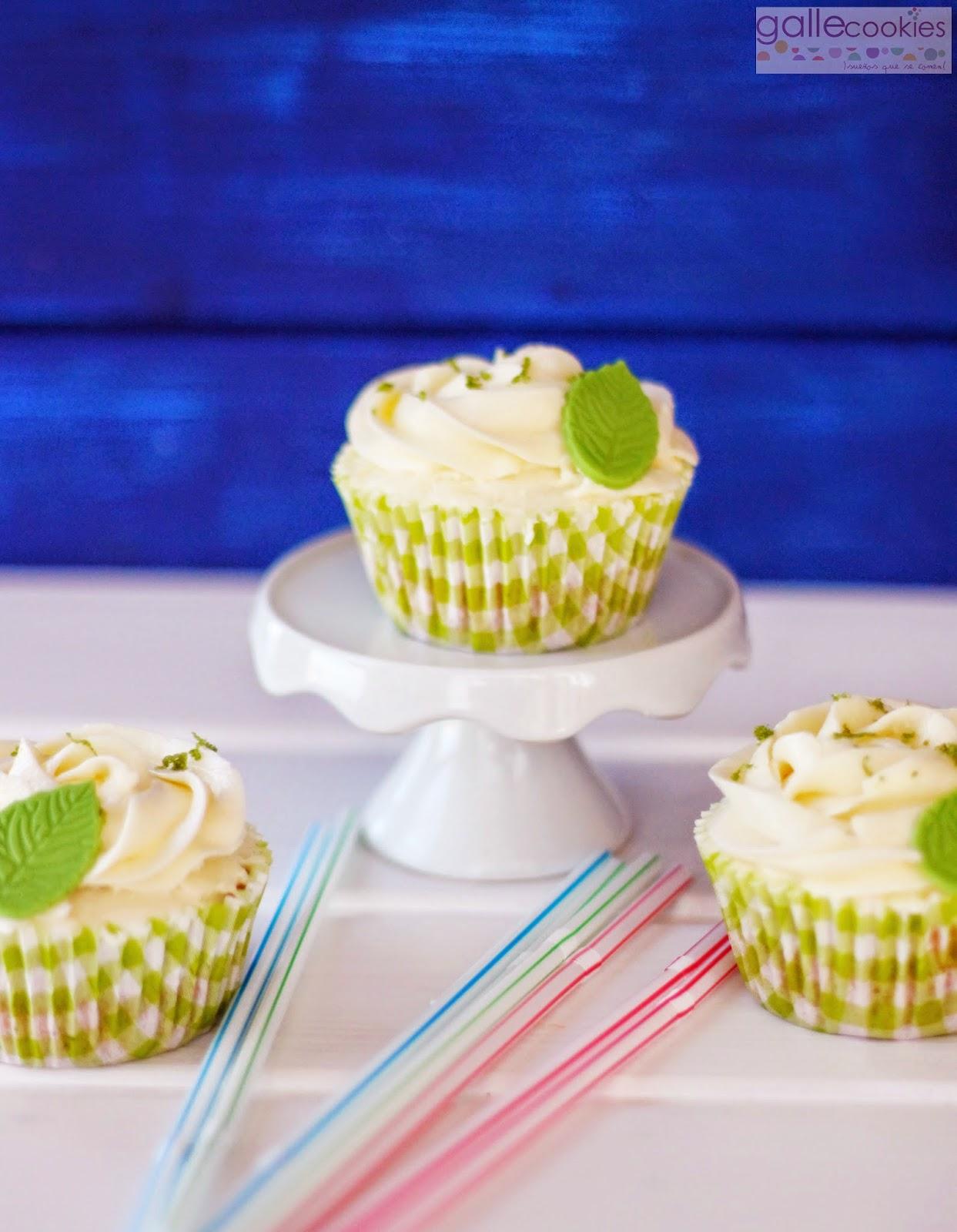 Imagen de cupcakes de mojito de Iratxe Ayala - Gallecookies