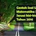 Contoh Soal US/M  Matematika SD Sesuai Kisi-Kisi 2016