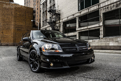 2013 Dodge Avenger Blacktop Edition - black dodge cars - dodge black - 2013 dodge
