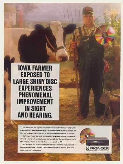 LaserDisc magazine ad from 1990