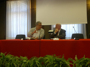 Maurizio Muraro e prof  Angermuller