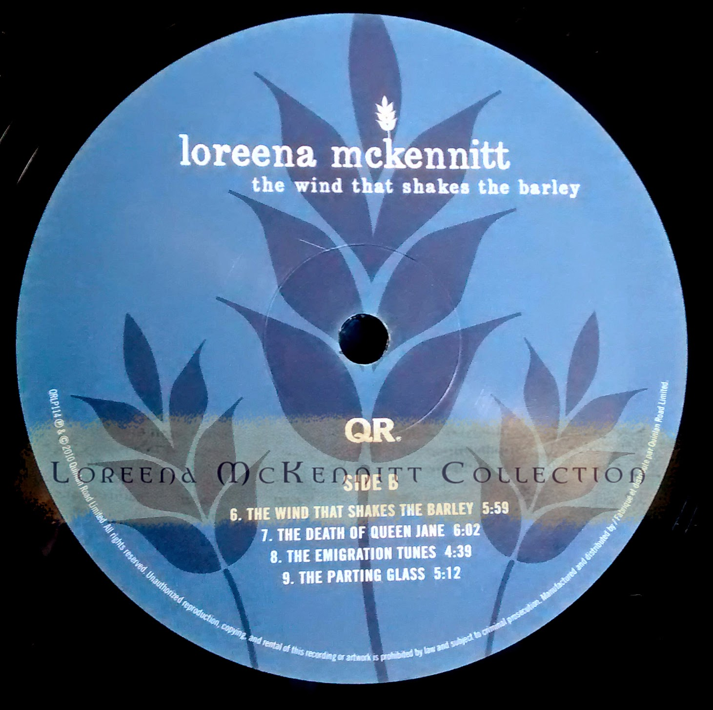 loreena mckennitt collection 2010 the wind that shakes the