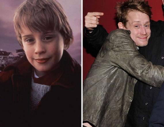 As crianças de filmes de terror antes e depois