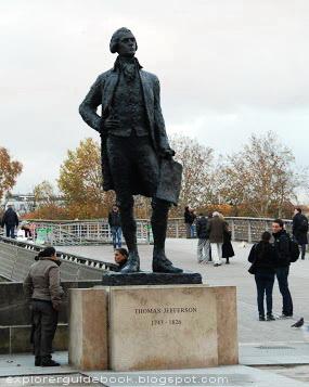 leopold sedar senghor Thomas Jefferson statue