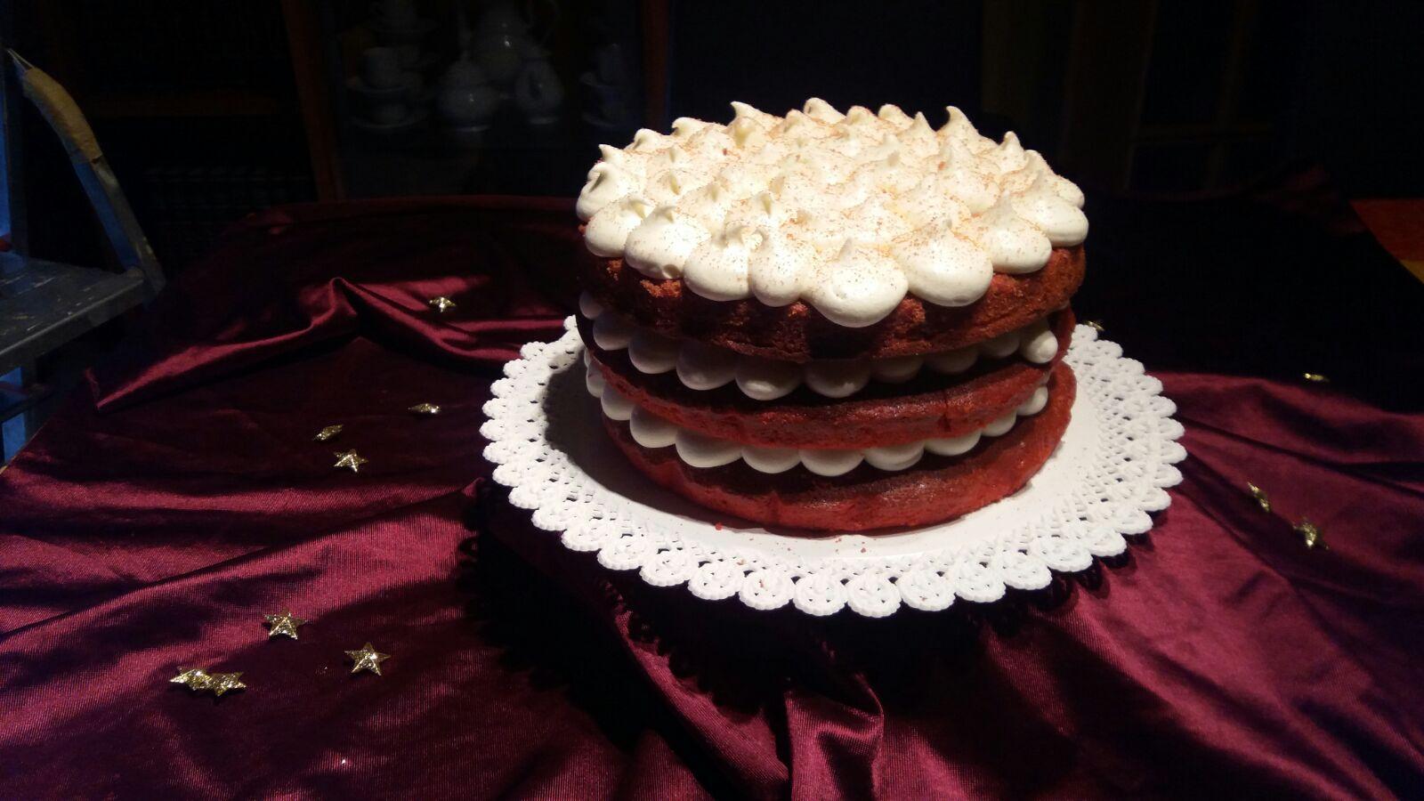 Sensaciones y cocina tarta red velvet - Tarta red velvet alma obregon ...