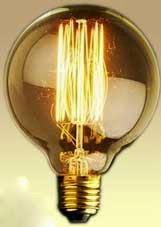 """Лампа Эдисона """"Круглая"""""""