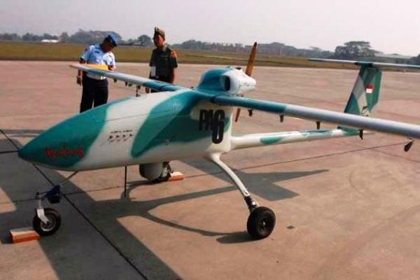 Pesawat UAV Wulung Buatan BPPT