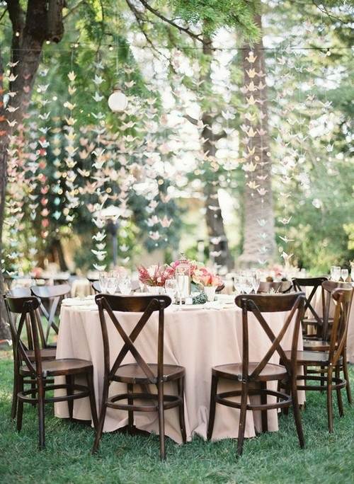 Good style outdoor wedding decor - Garden wedding decorations pictures ...