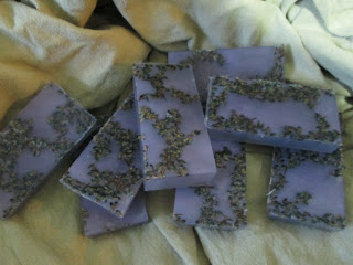 Lavender Bud Glycerin Soap
