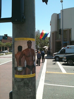 West Hollywood finds itself covered in Boy Butter Posters