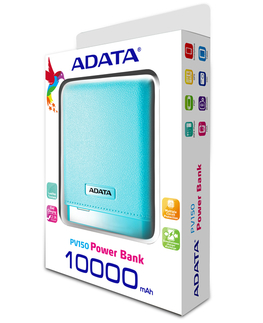 ADATA PV150 Power Bank Package