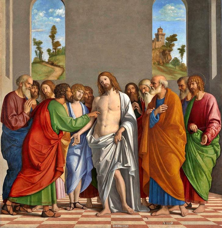 Giovanni Battista Cima da Conegliano - The Incredulity of Saint Thomas