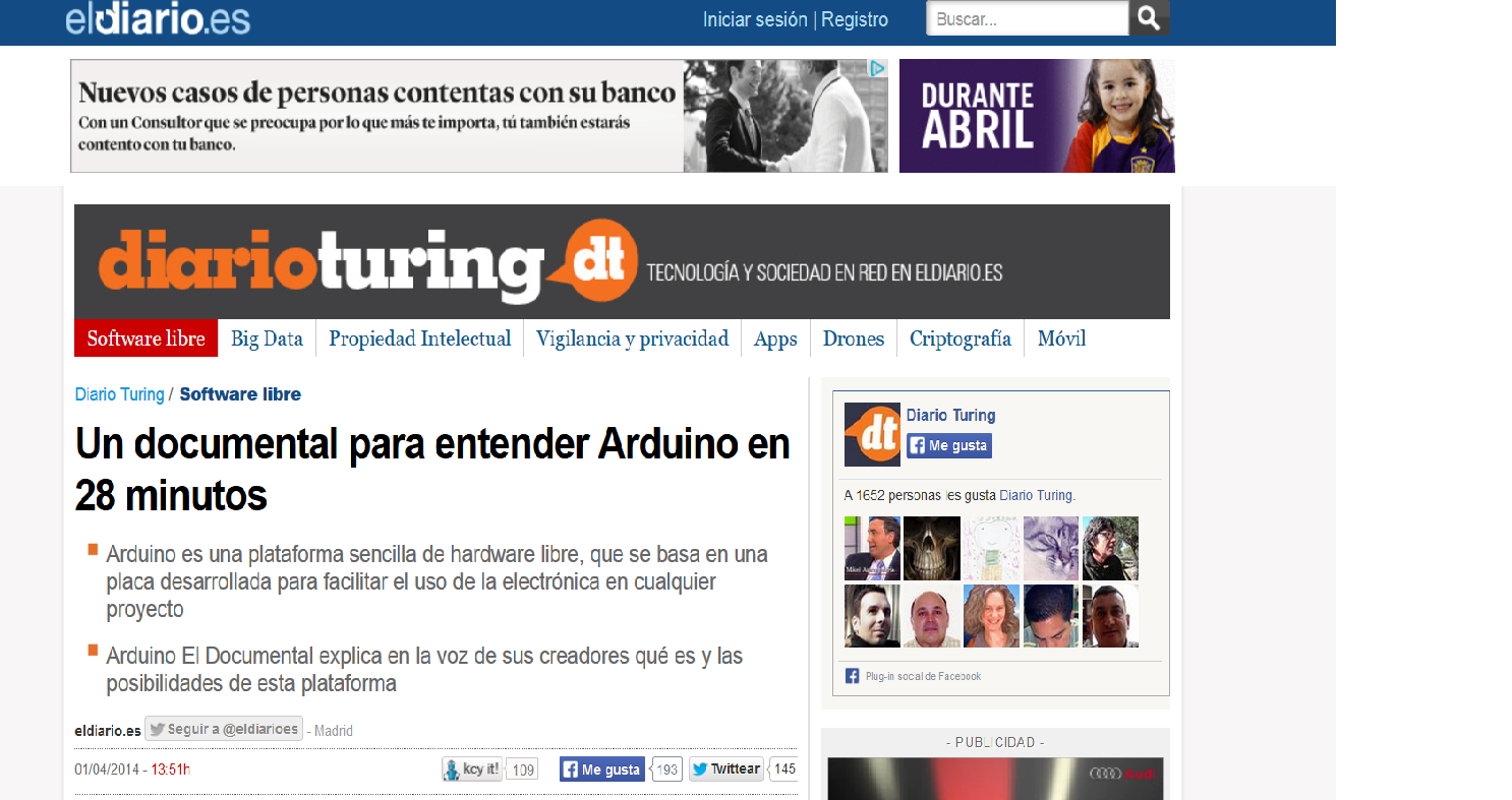 http://www.eldiario.es/turing/software_libre/Arduino-Documental_0_244625747.html