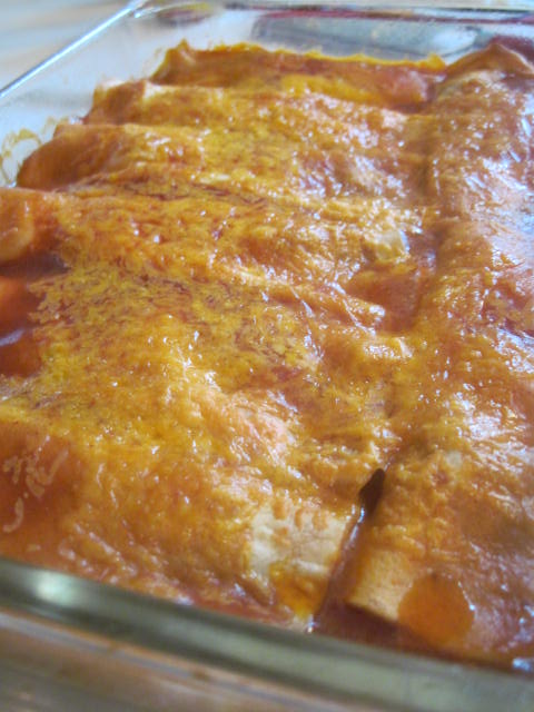 Moore or Less Cooking: Easy Cheesy Beef Enchiladas