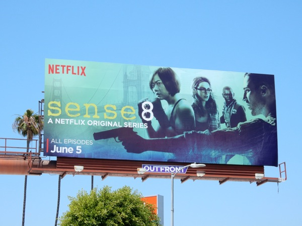 Sense 8 series premiere billboard